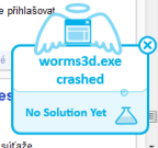 Pád Worms 3D